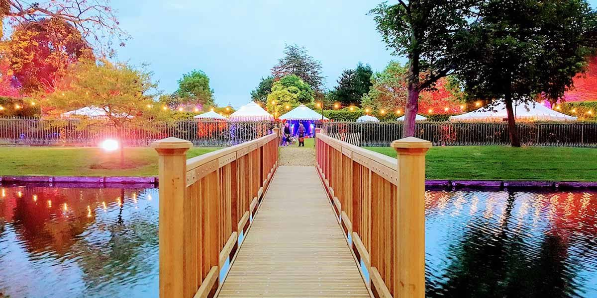 20th Century Garden, Hampton Court Palace, Prestigious Venues