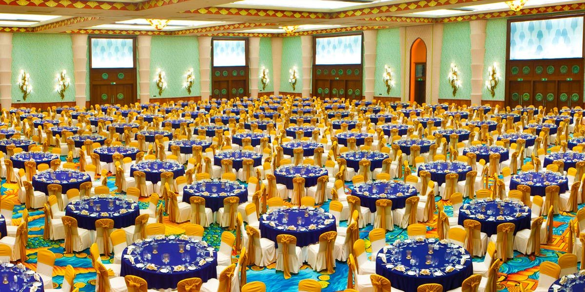 Atlantis Ballroom, Atlantis The Palm, Prestigious Venues, Dubai
