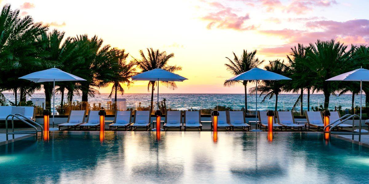 Beach Sunset, Nobu Eden Roc, Prestigious Venues