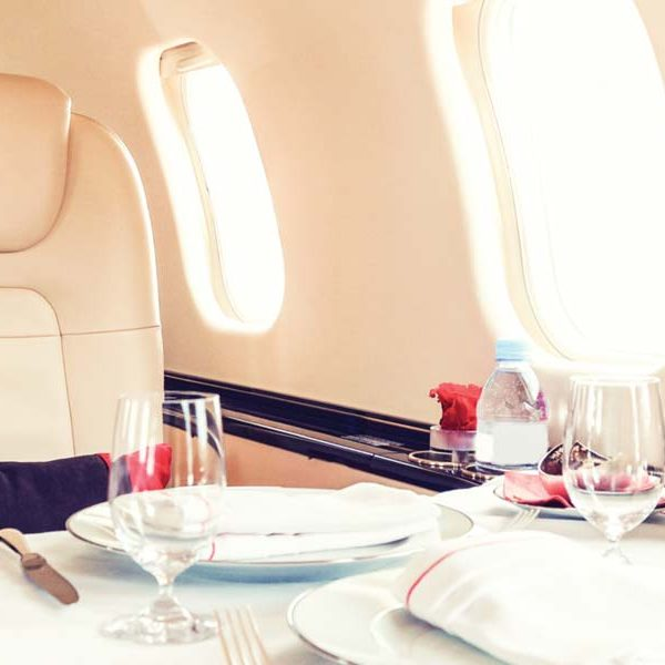 Catering Service, Private Jet, Air Partners, Prestigious Venues