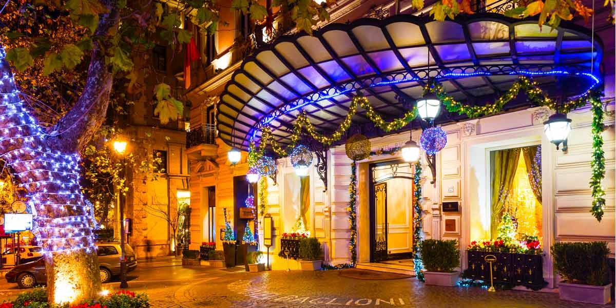 Christmas 2017, Baglioni Hotel Regina, Prestigious Venues