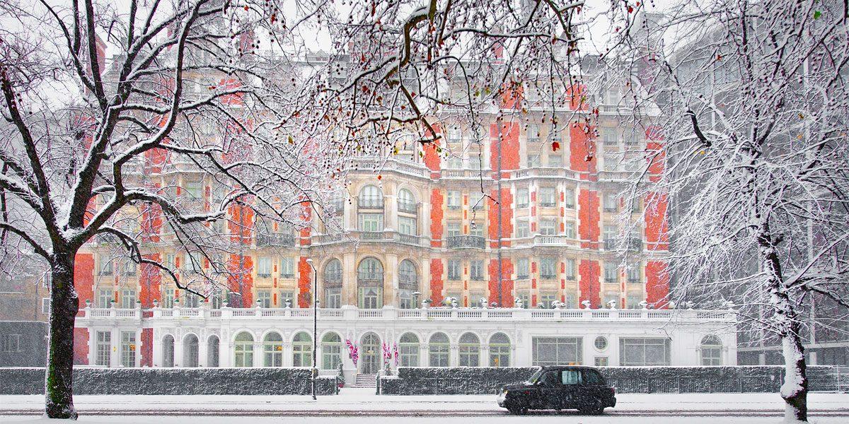 Christmas 2017, Mandarin Oriental Hyde Park, London, Prestigious Venues