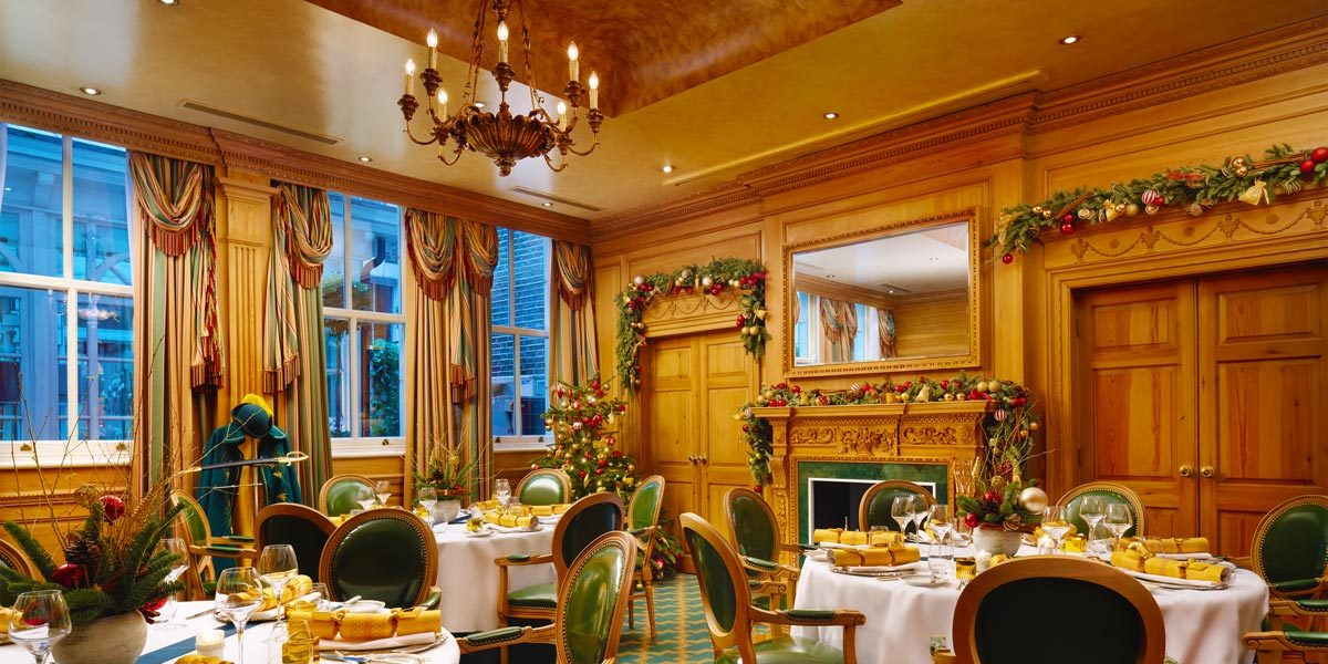 Christmas Party Venue, The Milestone Hotel, Prestigious Venues