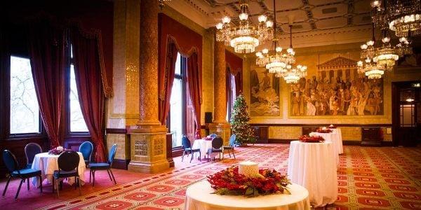 Christmas Reception Venue, One Whitehal Place, Prestigious Venues