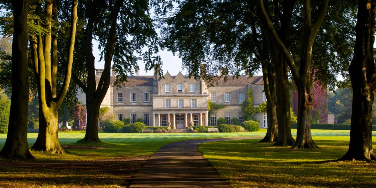 Countryside Retreat Venue, Lucknam Park Hotel & Spa