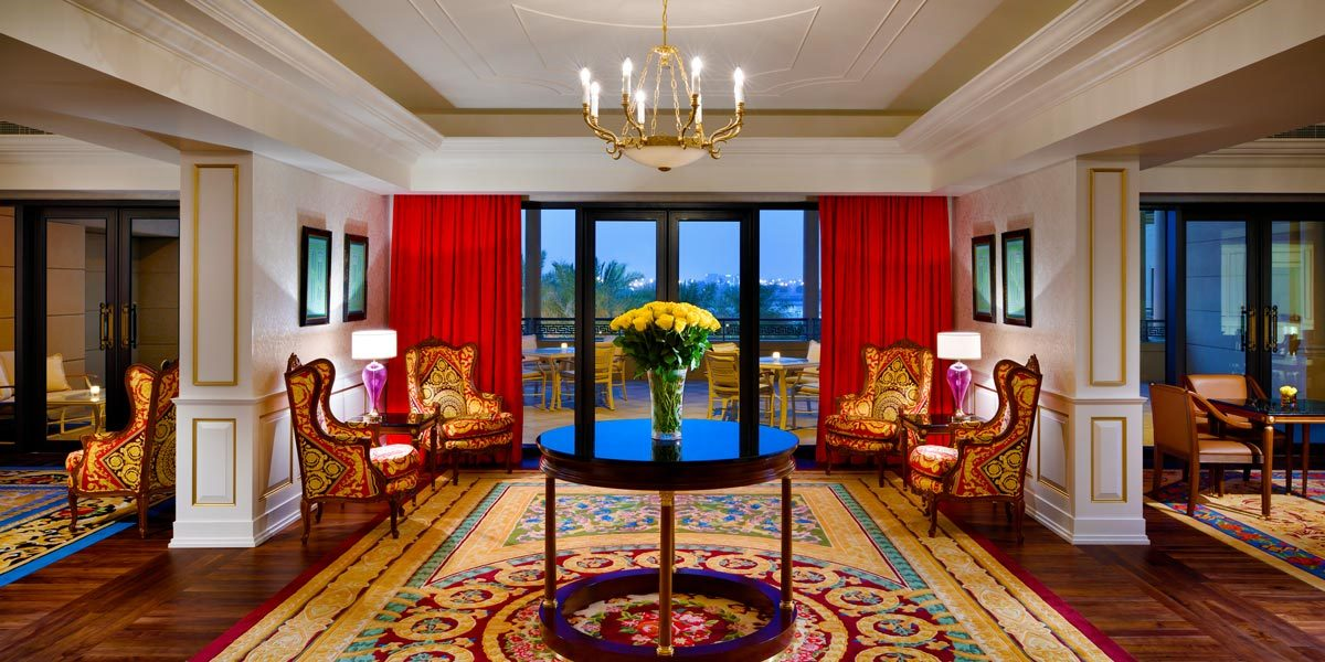 Executive Lounge, Palazzo Versace Dubai, Prestigious Venues