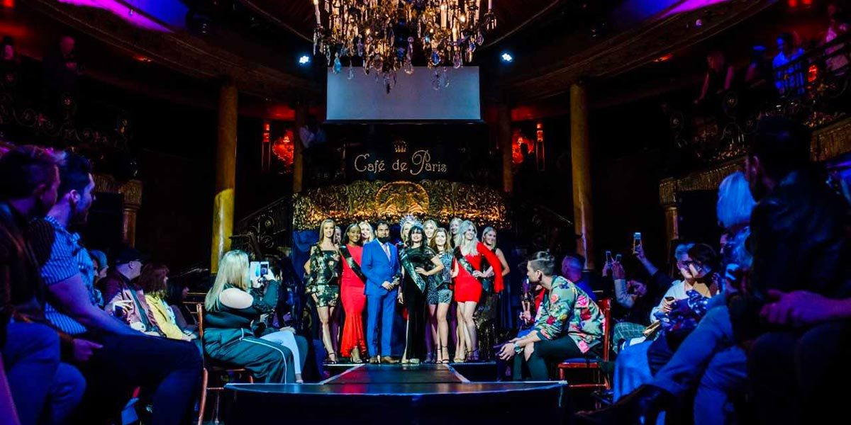 Fashion Catwalk Venue, Cafe de Paris, Prestigious Venues