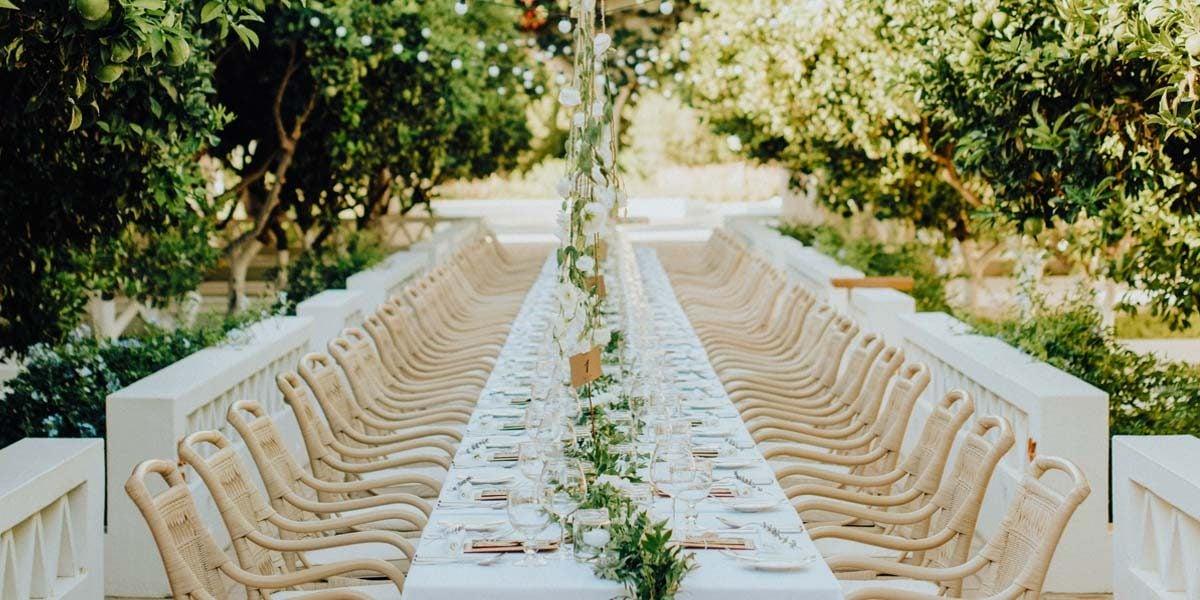 Garden Wedding Setup, Vila Monte, Prestigious Venues