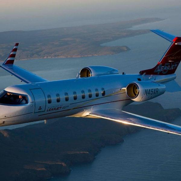 Learjet, Private Jet, Air Partner, Prestigious Venues