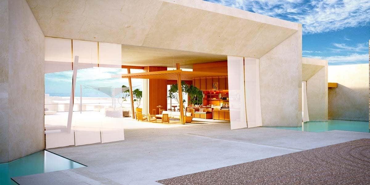 Loby Entry, Nobu Hotel Los Cabos, Prestigious Venues