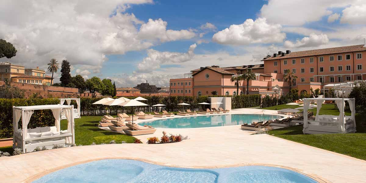 Luxury Hotel With Pool, Gran Melia Rome Villa Agrippina Event Spaces, Gran Melia Rome Villa Agrippina, Prestigious Venues