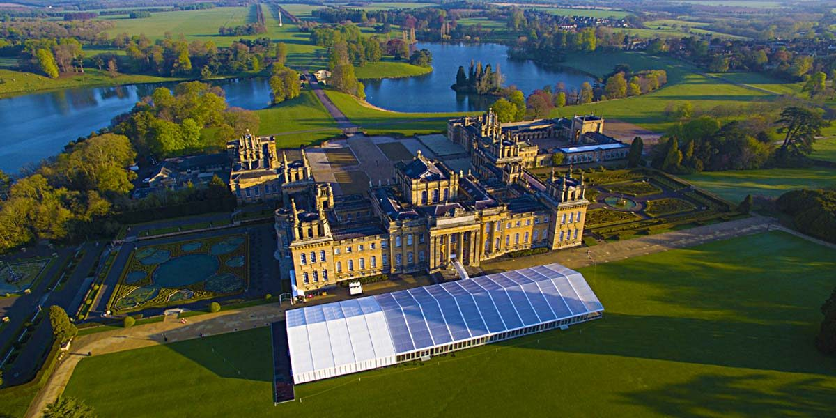 Private Dining Venue, Marquee for Events, Blenheim Palace, Prestigious Venues