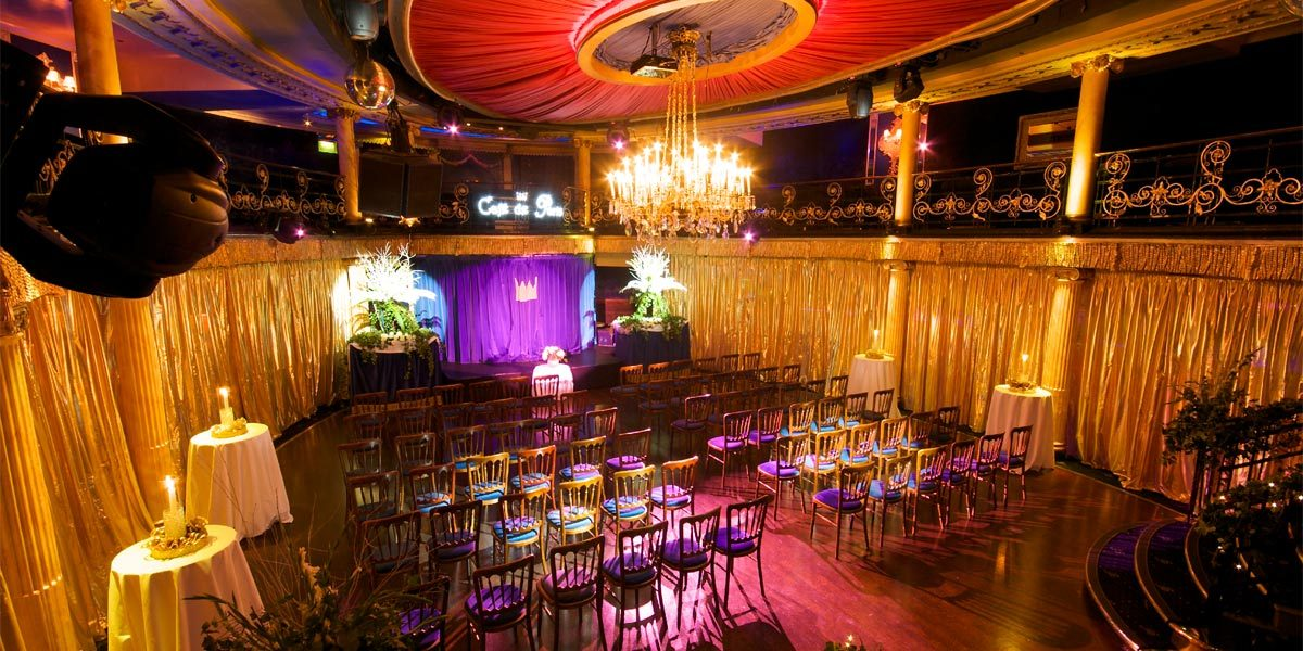 Modern Wedding Venue In London, Cafe De Paris, Prestigious Venues