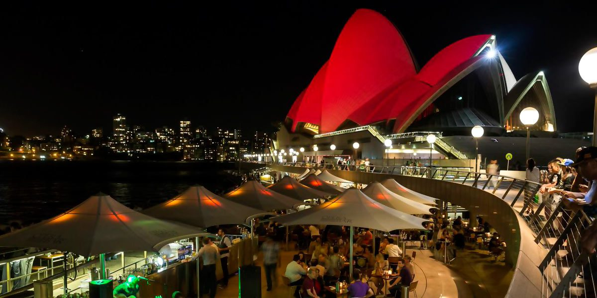 Night Harbour View, Sydney Opera House, Sydney, Prestigious Venues