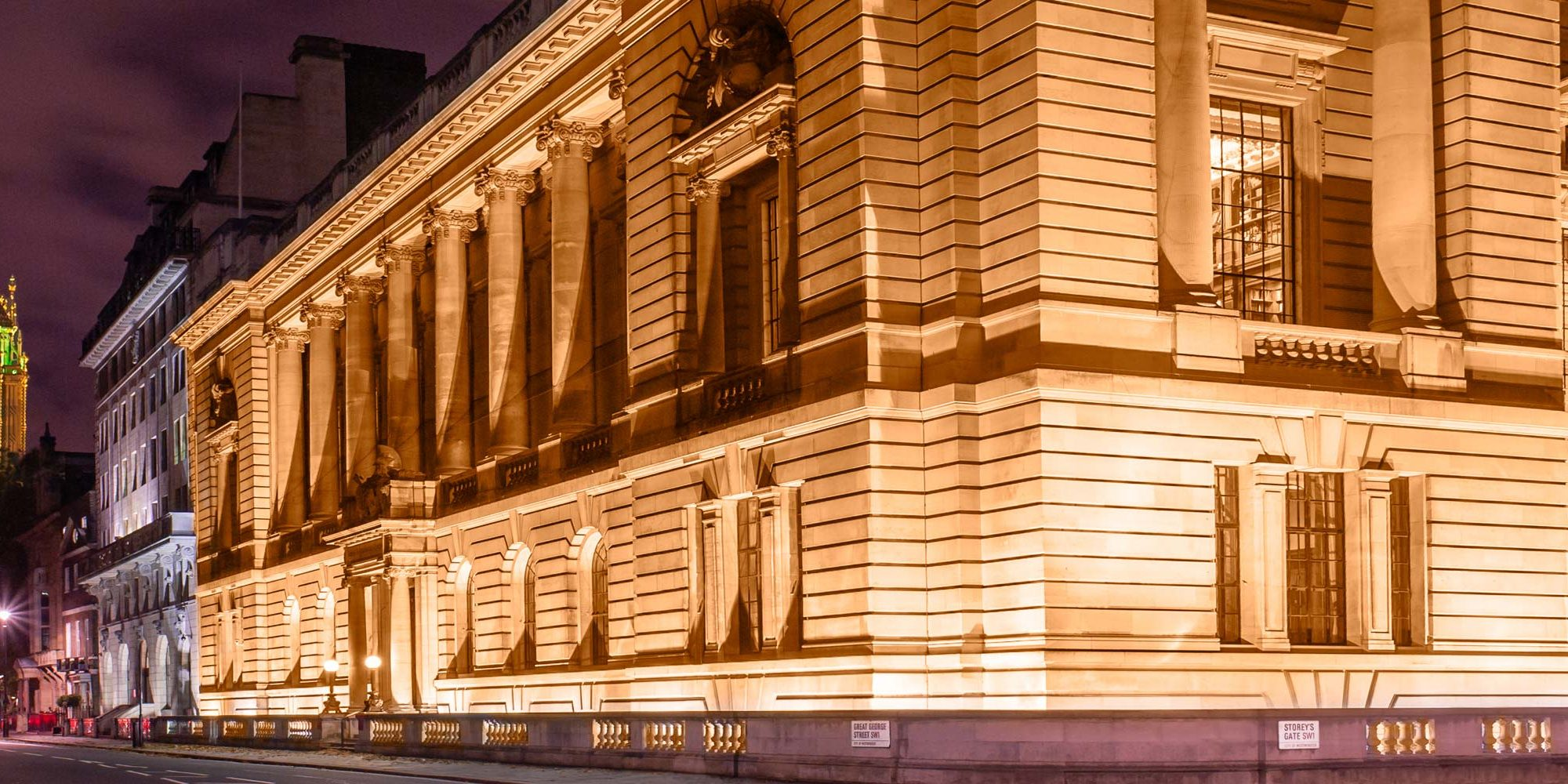 One Great George Street, Prestigious Venues