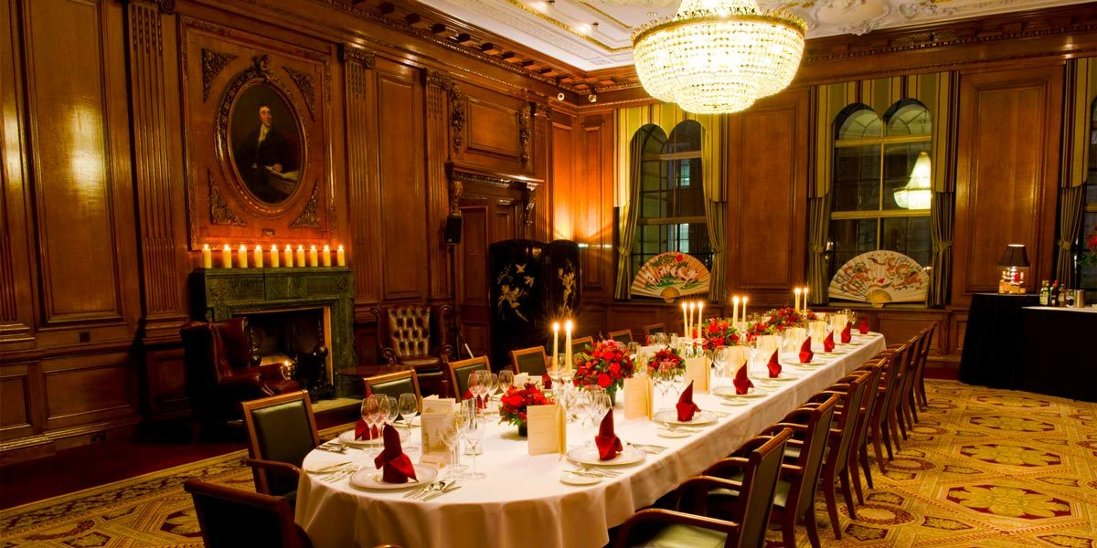 One of London's most striking halls with opulent event spaces