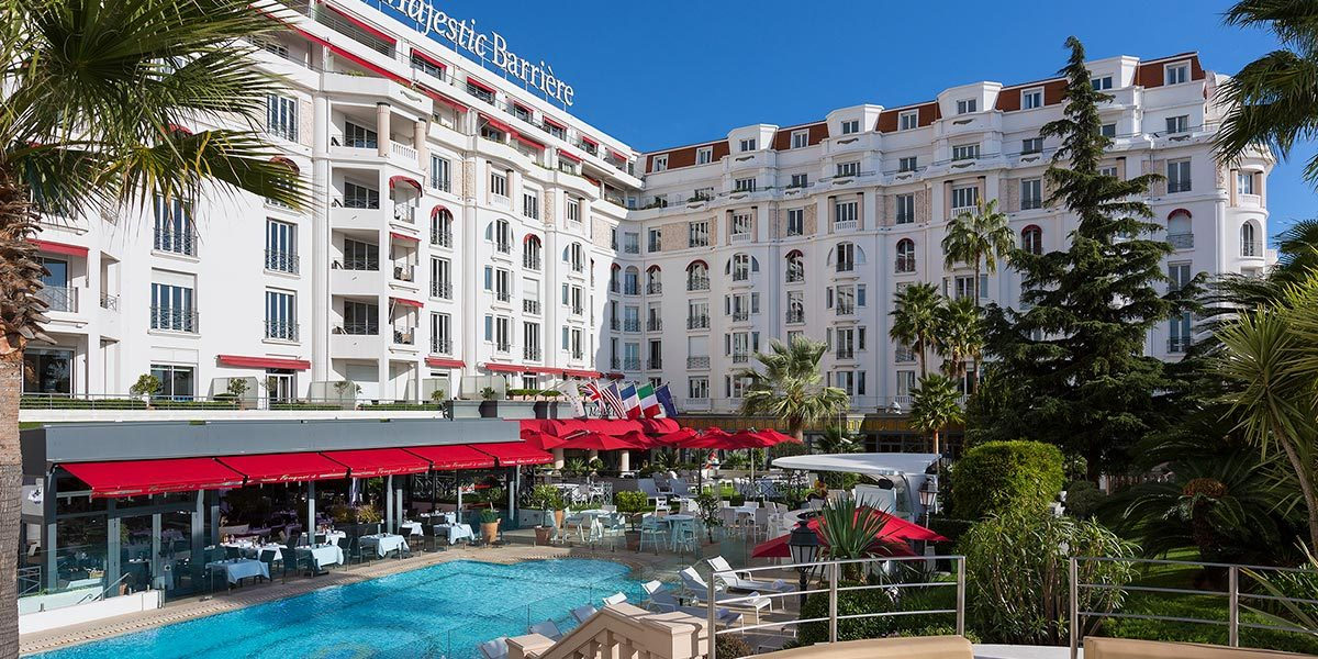 Outdoor Pool Venue South of France, Hotel Barriere Le Majestic Cannes, Prestigious Venues