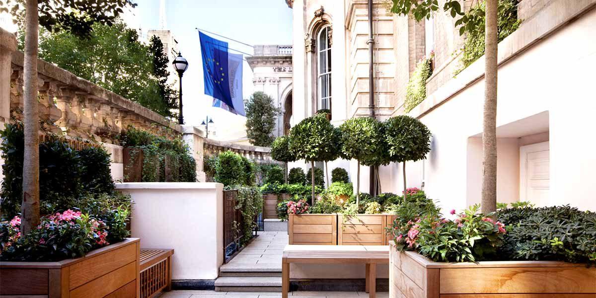 Outdoor Terrace Venue, The Langham London, Prestigious Venues