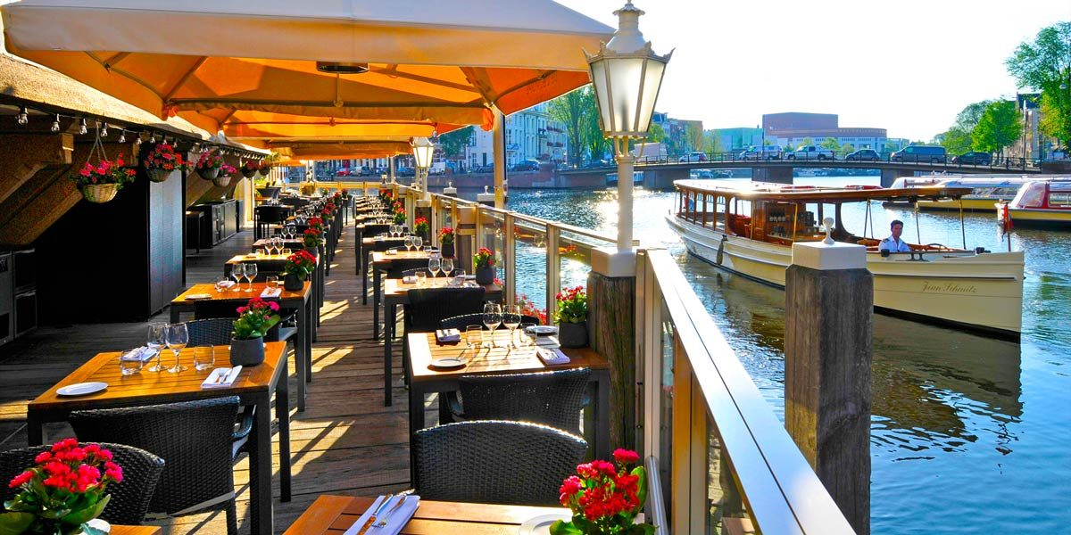 Outdoor Terraces, L'Europe Amsterdam, Prestigious Venues