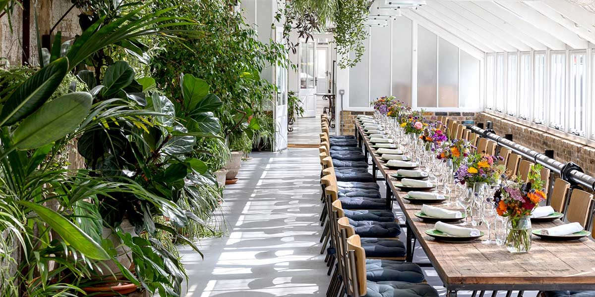 Potting Shed, Dinner Event, The Grove, Prestigious Venues
