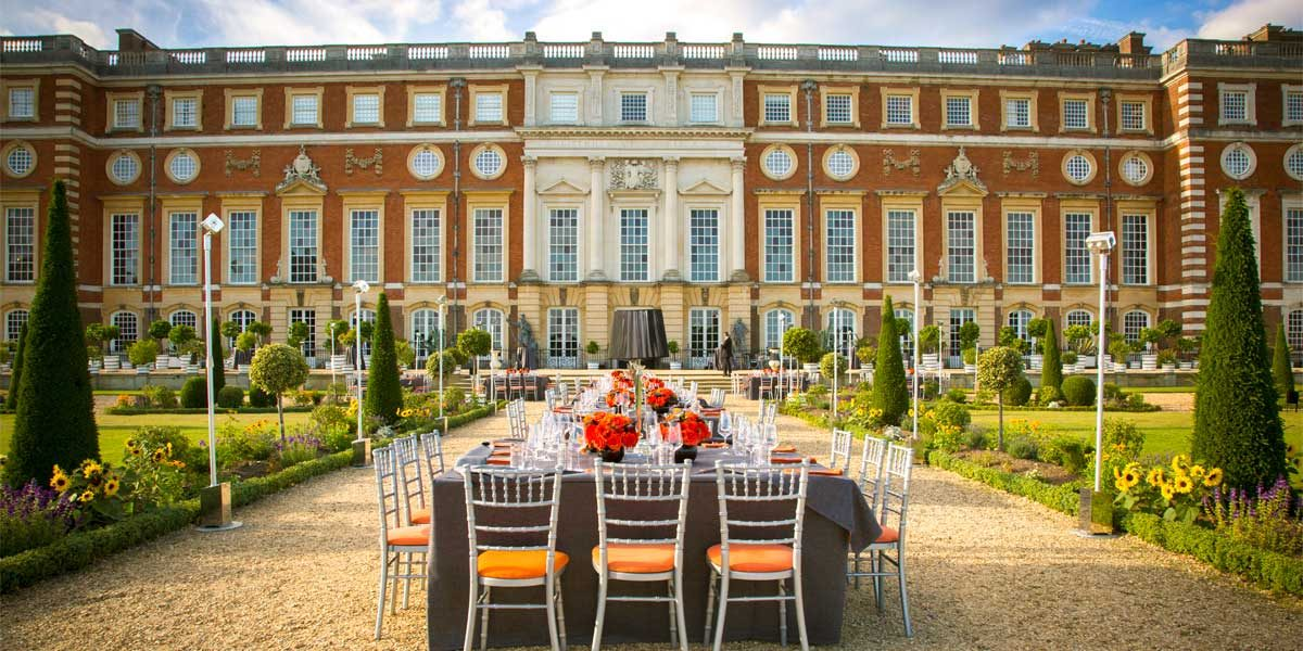 Private Dining In A British Palace, Hampton Court Palace, Prestigious Venues