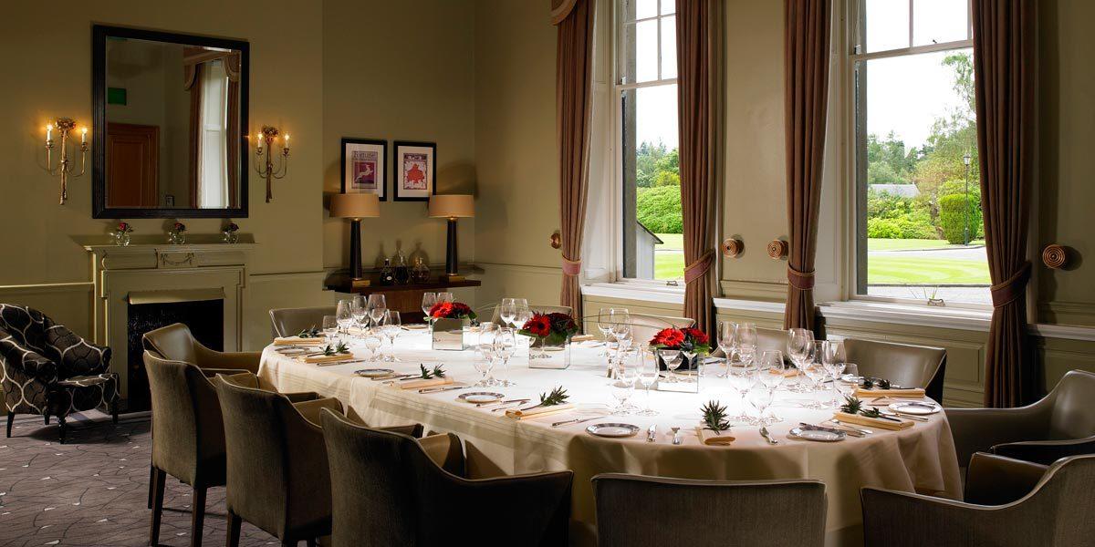 Private Dining Venue, Gleneagles, Auchterarder, Prestigious Venues