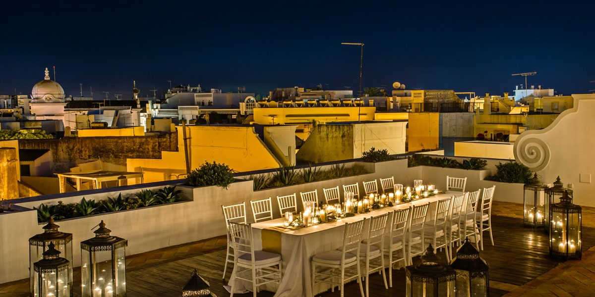 Rooftop Dinner Venue, Casa Fuzetta, Prestigious Venues