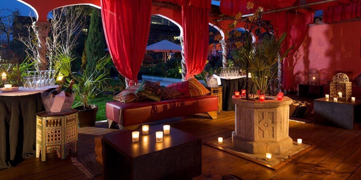 Rooftop Venue For Summer Parties, The Roof Gardens, Prestigious Venues
