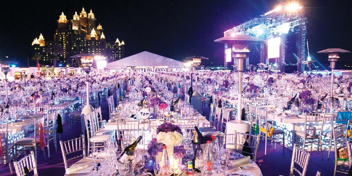 Royal Beach Reception Venue, Atlantis The Palm, Prestigious Venues