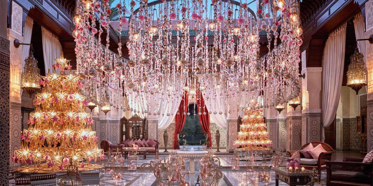 Royal Mansour Marrakech, Morocco, Christmas Venue