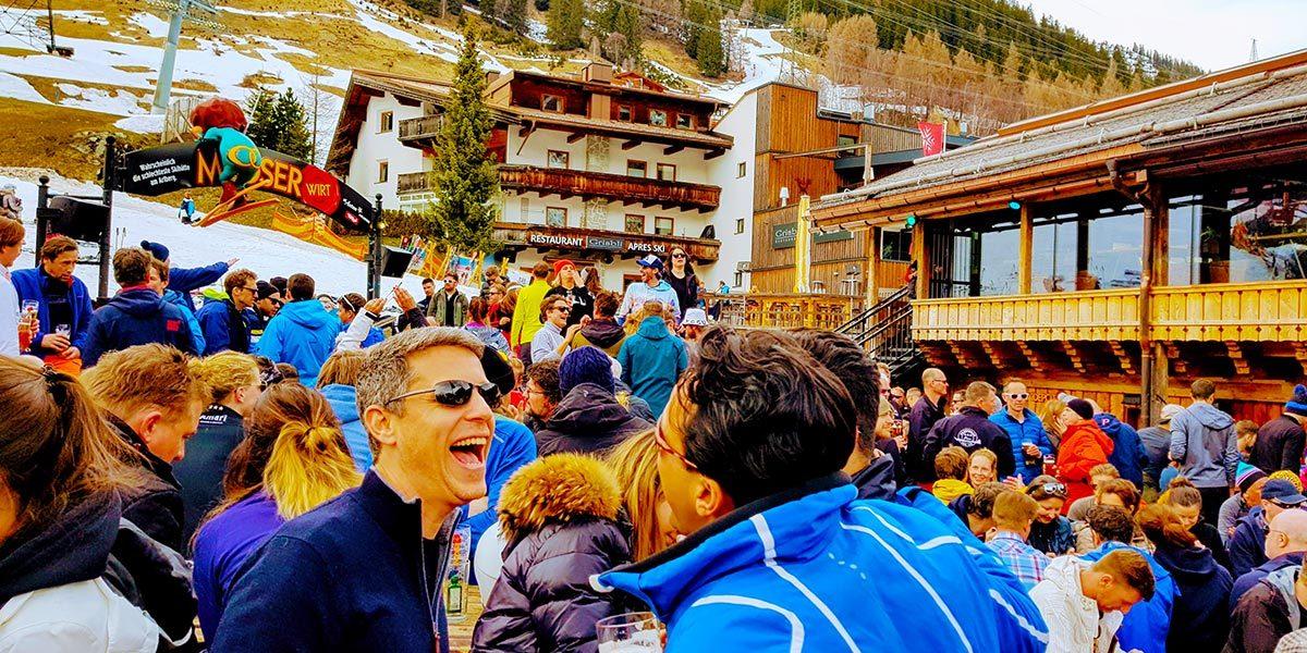 Spring Ski Weekend 2018, Hotel Maiensee, St Christoph, Austria, 0012