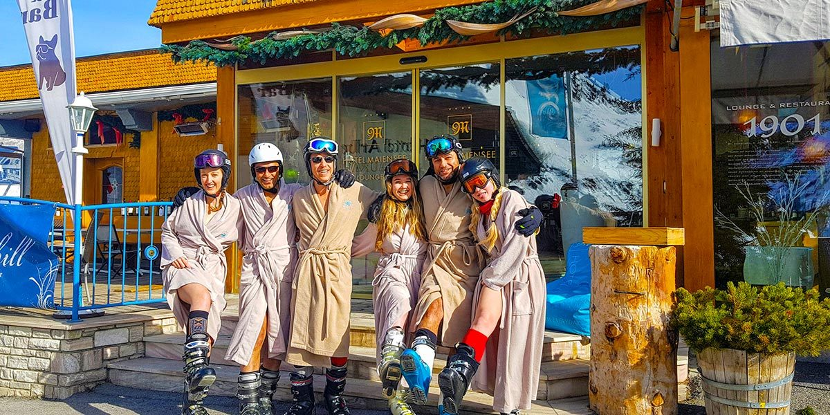 Spring Ski Weekend 2018, Hotel Maiensee, St Christoph, Austria, 0021