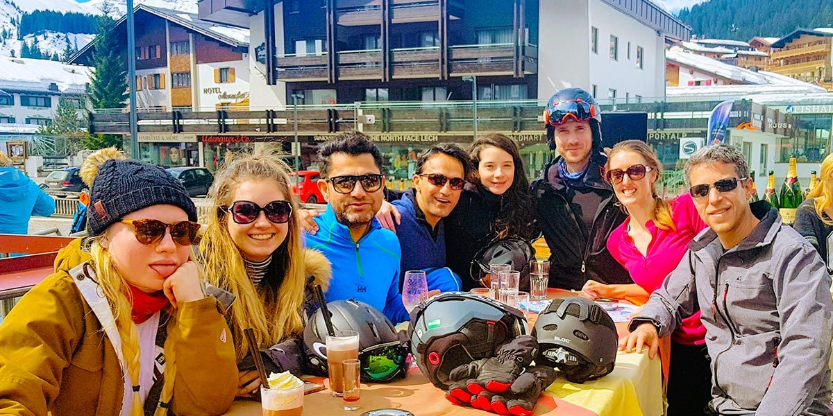 Spring Ski Weekend 2018, Hotel Maiensee, St Christoph, Austria, 0041