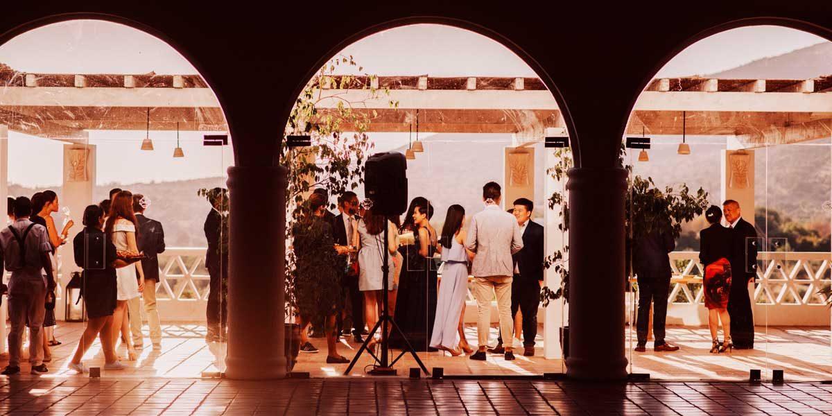 Sunset Cocktails, Vila Monte, Prestigious Venues