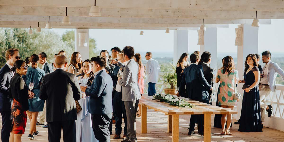 Terrace Event, Vila Monte, Prestigious Venues