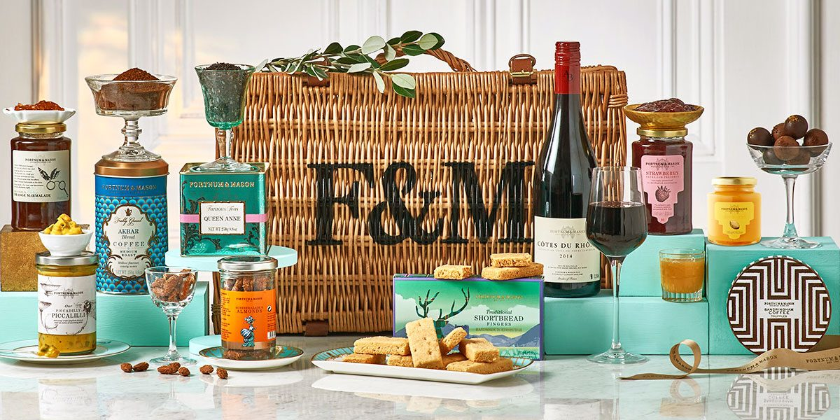 The Blenheim Hamper from Fortnums and Mason, Prestigious Venues