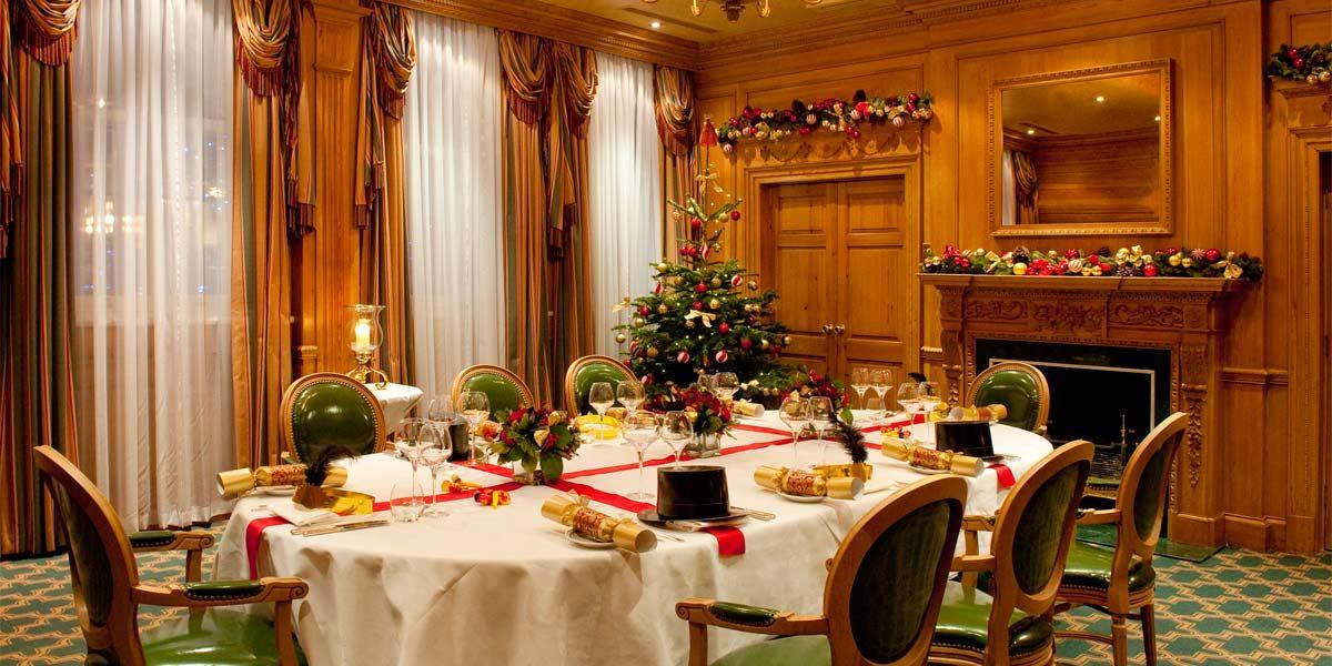 The Milestone Hotel, UK, Christmas Venue