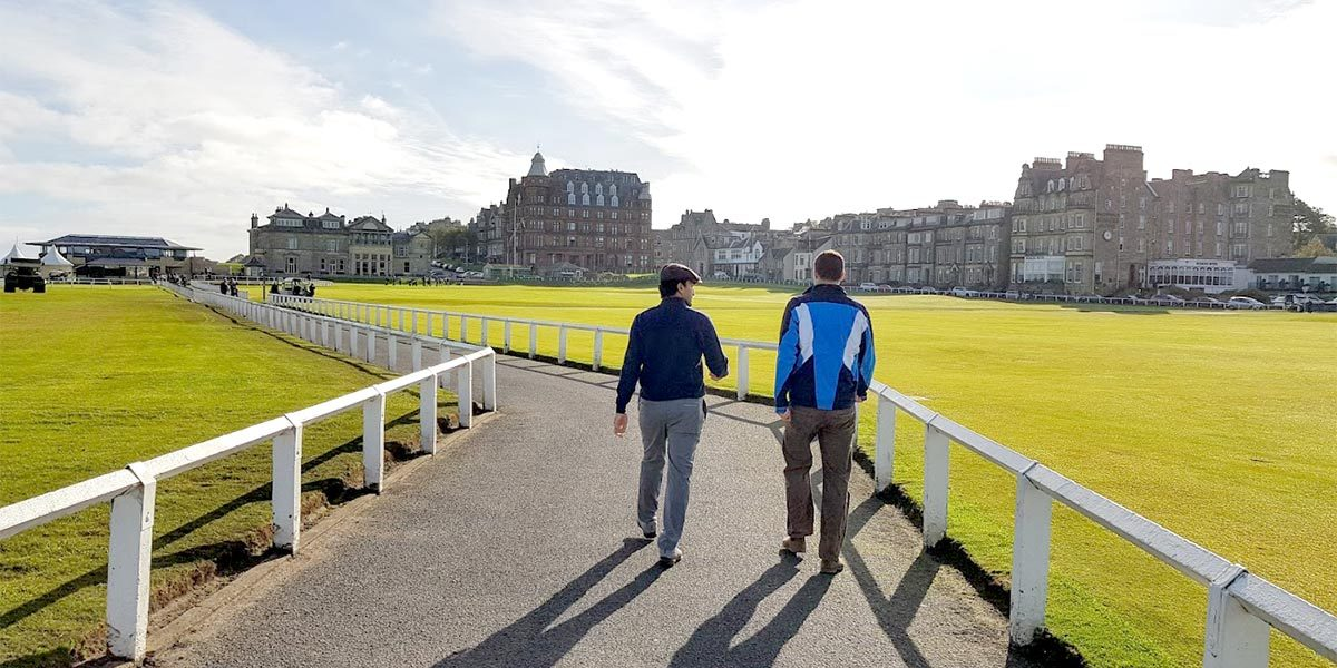 The Old Course, Fairmont St Andrews Visit, Prestigious Venues