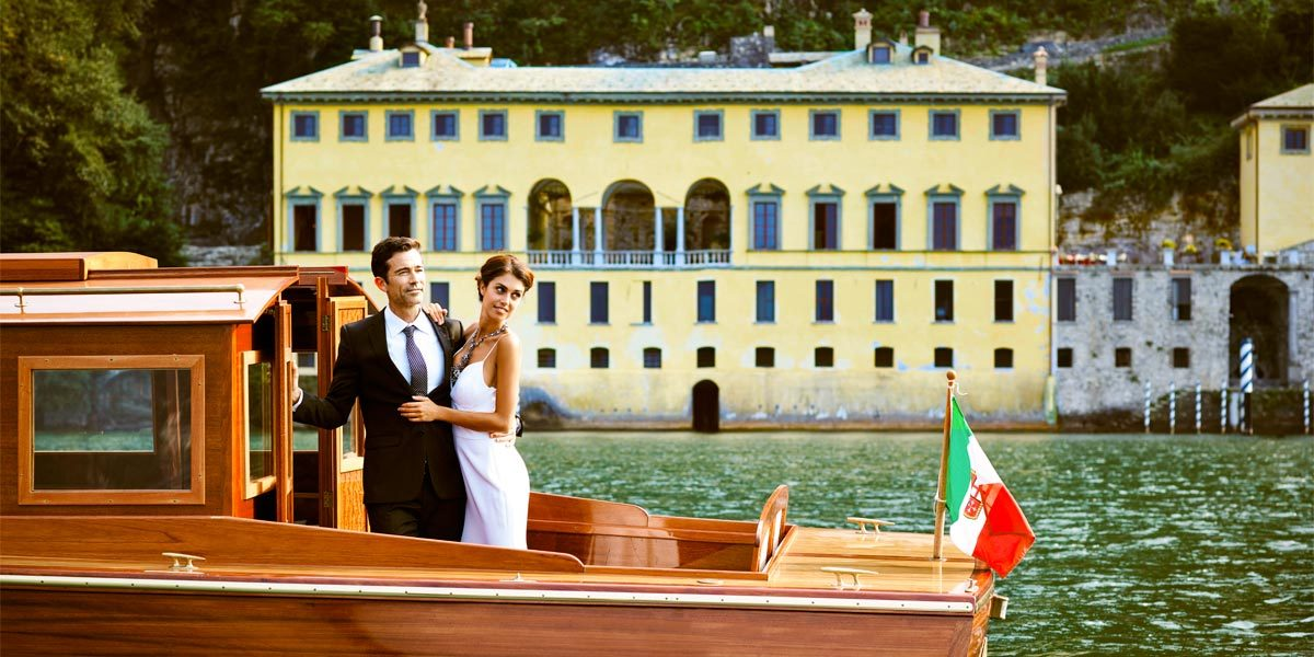 Wedding On Lake Como, Villa Pliniana, Prestigious Venues